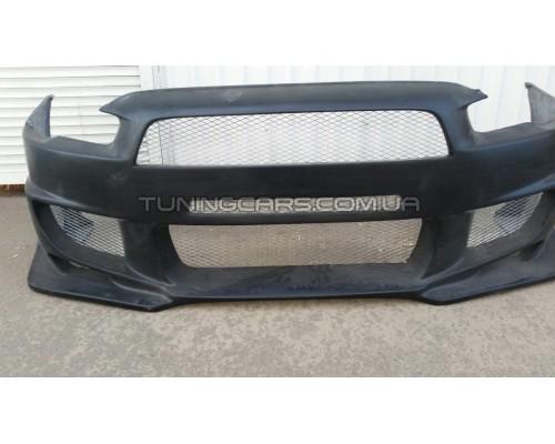 Бампер передний Mitsubishi Lancer X Style