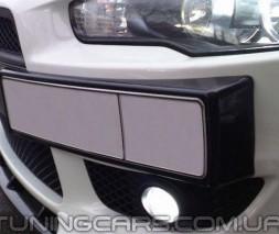 Подиум под номер для Mitsubishi Lancer X, Митсубиши Лансер 10