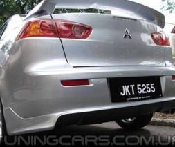 "Накладка на задний бампер ""Zodiak"" для Mitsubishi Lancer X, Митсубиши Лансер 10"