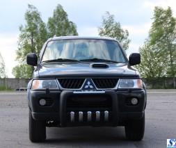 Кенгурятник Mitsubishi Pajero Sport QT001
