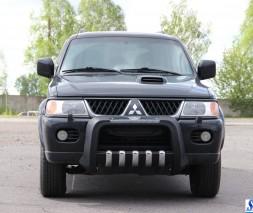 Кенгурятник Mitsubishi Pajero Sport QT015