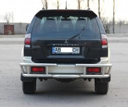 Задняя защита Mitsubishi Pajero Sport AK022