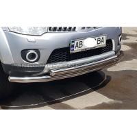 Защита переднего бампера для Mitsubishi Pajero Sport (2008-2013) MHPJ.08.F3-10 d60мм x 1.6
