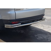 Защита заднего бампера для Mitsubishi Pajero Sport (2008-2013) MHPJ.08.B1-17 d60мм x 1.6