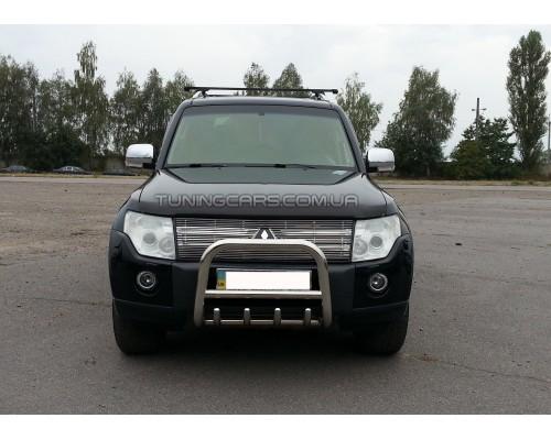 Защита переднего бампера для Mitsubishi Pajero Wagon 3 (2000-2006) MHWG.00.F2-01 d60мм x 1.6