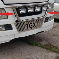 Держатель фар на радиатор для MAN TGX  (2007-2012) MNTGX.08.R1-05 d60мм x 1.6