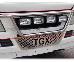 Держатель фар на радиатор для MAN TGX Euro 5 (2007-2012) MNTGX.08.R1-05 d60мм x 1.6
