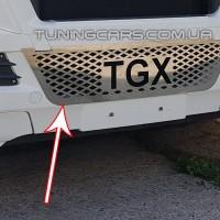 Накладки на решетку нерж. для MAN TGX (2012-2017) MNTX.12.030-B