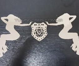 Логотипы хром для MAN TGX (2007-2020)