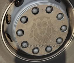 Накладка на колесо хром для MAN TGX (2007-2020)