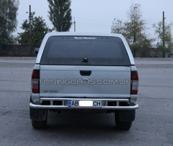 Защита заднего бампера для Nissan Skystar (NP300) (2007+) NSNP.07.B1-14 d60мм x 1.6