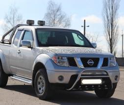 Передняя защита кенгурятник Nissan Navara (05-14) NSNV.05.F1-20