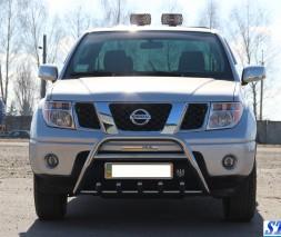 Кенгурятник Nissan Navara WT003 Special