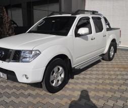 Пороги Nissan Navara AB004 (Artemis Silver)