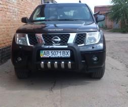 Кенгурятник Nissan Pathfinder QT015