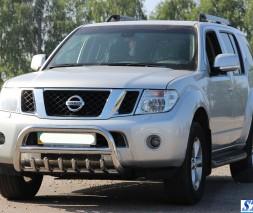 Кенгурятник Nissan Pathfinder [2005-2014] WT008