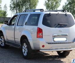 Задняя защита Nissan Pathfinder [2005-2014] AK002