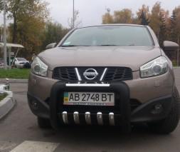 Кенгурятник Nissan Qashqai [2006-2012] QT001
