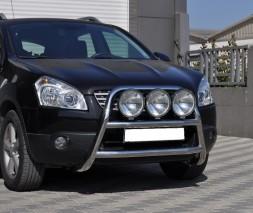 Кенгурятник Nissan Qashqai [2006+] WT018 (Adolf)