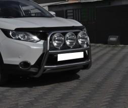 Кенгурятник Nissan Qashqai [2013+] WT018 (Adolf)