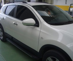 Пороги Nissan Qashqai EB002 (Elegance Black)