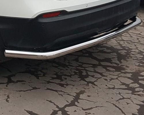 Защита заднего бампера для Nissan Qashqai J11 (2017+) NSQH.17.B1-15 d60мм x 1.6