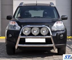 Кенгурятник Nissan X-Trail WT018 (Adolf)