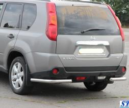 Задняя защита Nissan X-Trail [2007-2013] AK003