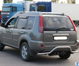 Задняя защита Nissan X-Trail [2001-2007] AK008