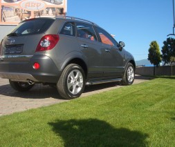 Пороги Opel Antara [2006+] KB002 (Hunter)