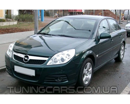 Накладки на фары (реснички) Opel Astra H, Опель Астра Н