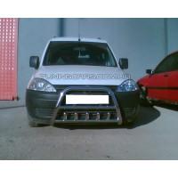 Защита переднего бампера для Opel Combo C (2001-2011) OPCB.01.F1-03 d60мм x 1.6