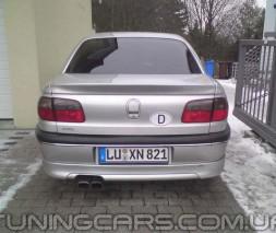 """Лип спойлер """"Steinmetz"""" для Opel Omega B, Опель Омега Б"""