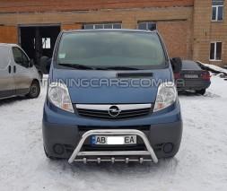 Передняя защита кенгурятник Opel Vivaro (01-14) NSPM.01.F1-03