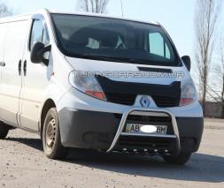 Передняя защита кенгурятник Opel Vivaro (01-13) NSPM.01.F2-04