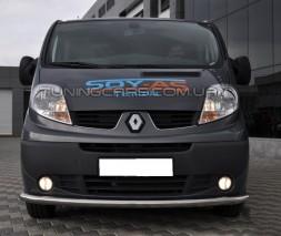 Передняя защита ус Opel Vivaro (01-13) NSPM.01.F3-05
