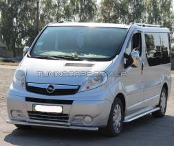 Передняя защита ус Opel Vivaro (01-13) NSPM.01.F3-10