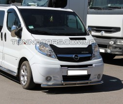 Защита переднего бампера для Opel Vivaro (2001-2013) NSPM.01.F3-20 d60мм x 1.6