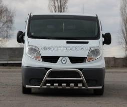 Передняя защита ус Opel Vivaro (01-13) NSPM.01.F3-27