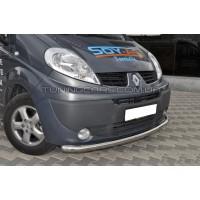Защита переднего бампера для Opel Vivaro (2001-2013) NSPM.01.F3-05 d60мм x 1.6