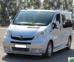 Кенгурятник Opel Vivaro ST014 (Greyder)