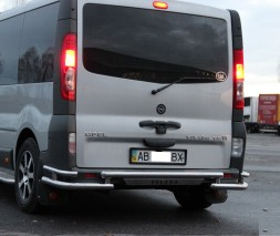 Задняя защита Renault Trafic/Opel Vivaro [2001+] AK005-32