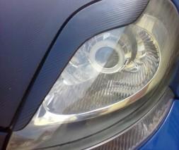 Накладки на фары (реснички) Opel Vivaro, Опель Виваро