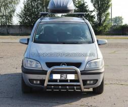 Защита переднего бампера для Opel Zafira (99-05) OPFR.94.F2-01 d60мм x 1.6