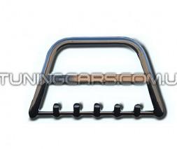 Передняя защита ус Peugeot Bipper (08+) CTNM.08.F2-10