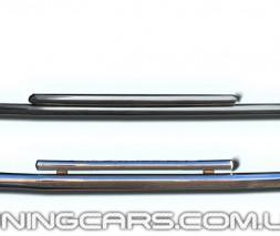 Передняя защита ус Peugeot Bipper (08+) CTNM.08.F3-10