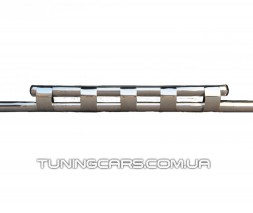Защита переднего бампера для Peugeot Bipper (2008+) CTNM.08.F3-12 d60мм x 1.6