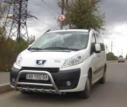 Кенгурятник Peugeot Expert WT003 (Inform)