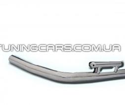 Защита заднего бампера (углы) для Peugeot Expert (1995-2006) CTJP.95.B1-48 d60мм x 1.6