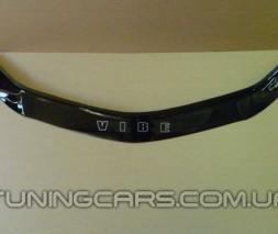 Дефлектор капота (мухобойка) Pontiac Vibe с 2002-2007, (Понтиак вибе)